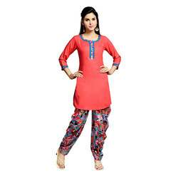 printed patiyala suits