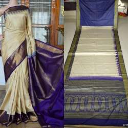 Georgette With Printed Saree - WA0508
