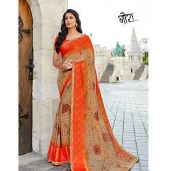 Simple Georgette Sarees