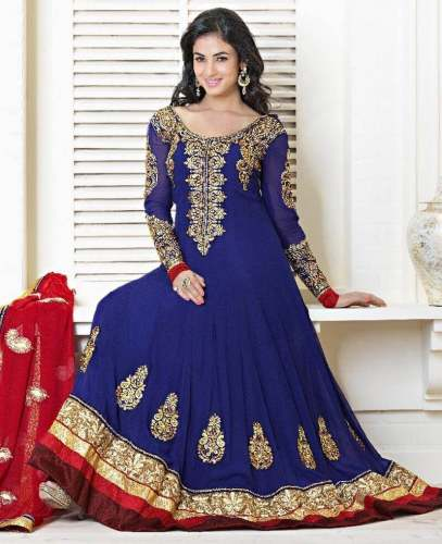 Salwar Suit Embroidery Work