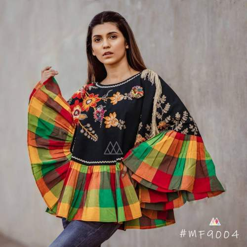 Embroidered Poncho-3 by Fashion Valley Dresses