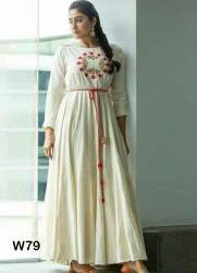 Rayon Long Heavy Gown