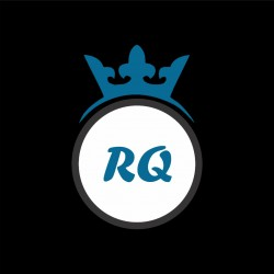 royal queen textile logo icon