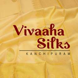 Vivaaha Silks Kanchipuram logo icon