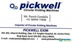 Pickwell Exim logo icon