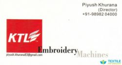 KTL Embroidery Machine