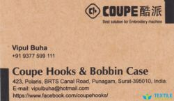 Coupe Hooks and Bobbin Case logo icon