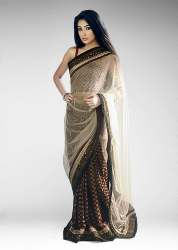 fashionable net saree