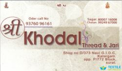 Khodal Thread Jari logo icon