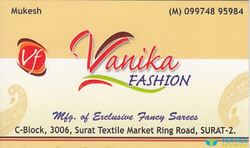 Vanika Fashion logo icon