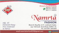 Namrata Fashion logo icon