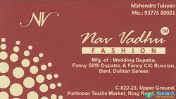 Nav Vadhu Fashion logo icon