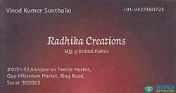 Radhika Creations logo icon