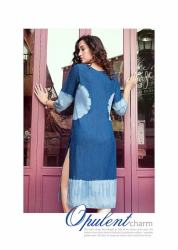 Ladies Stylish Denim Kurti Kumb X10