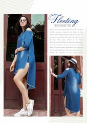 Ladies Stylish Denim Kurti Kumb X3
