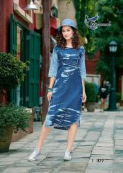 Ladies Stylish Denim Kurti Kumb X6