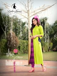 Ladies Flavour Winter Long Kurtis