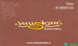 Muskan Embroidery logo icon