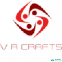 v r crafts logo icon