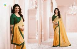Georgette Printed saree Collection1