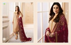 Satin with malti work straight suit