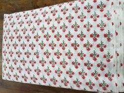 Cotton Hand Block Printed Fabric6