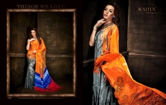 Color Printed Sarees
