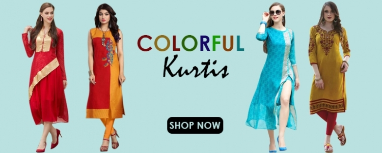Color Full Kurtis
