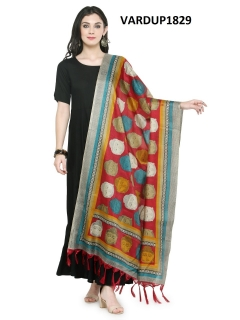 Khadi Cotton printed dupata