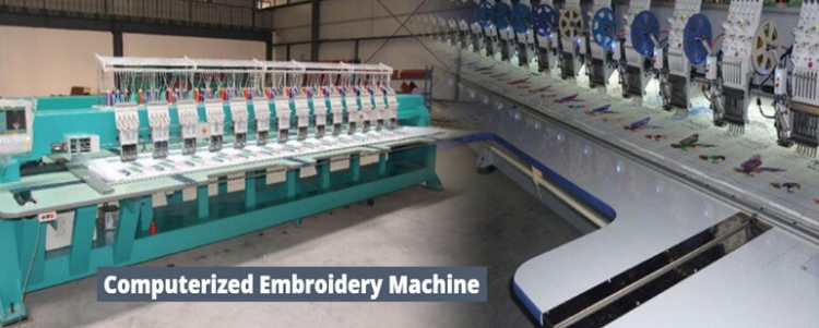 HSW Embroidery Machine Banner