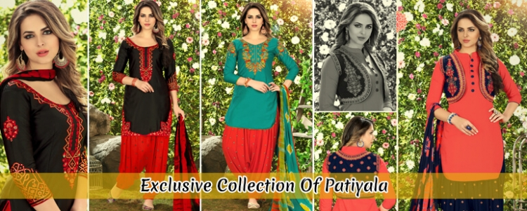 Exclusive Collection of Patiyala