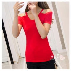 Trendy Red T Shirt