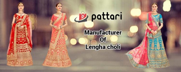Pattari Fab Lehenga Choli collection for Bridals