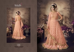 designer heavy embroidery anarkali suit