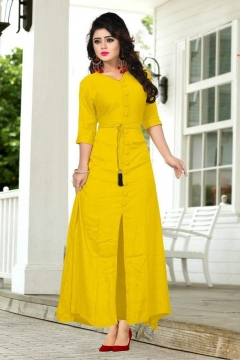 Creta Yellow Gown