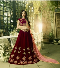 NEW MAROON COLOR CHOLI